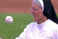 Catholic Sister Mary Jo throws first pitch at White Sox game