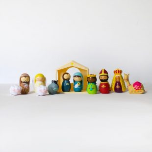 Shining Light Dolls Complete Nativity Set