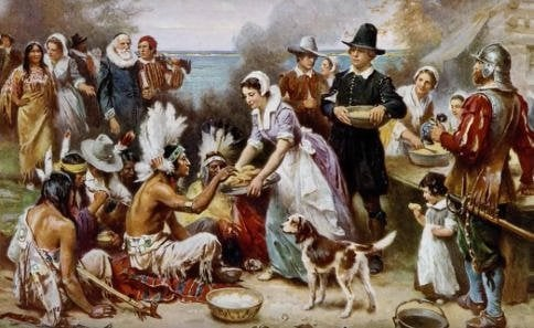 catholic Thanksgiving prayer and history