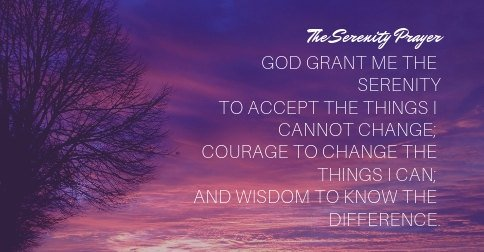 catholic serenity prayer