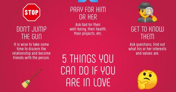 Infographic: 5 Things You Can Do If You're In Love