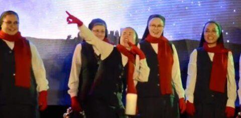 catholic christmas carols nuns seminarians