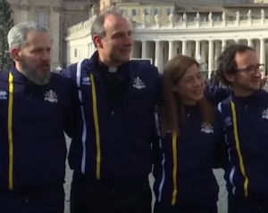 Holy See Track Team First Vatican