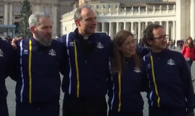 The Vatican's New Track Team: Nuns, Priests, And Swiss Guards