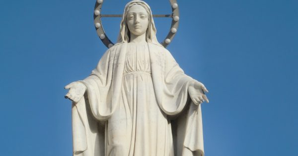 Monday after Pentecost: the Memorial of the Blessed Virgin Mary, Mother of the Church.