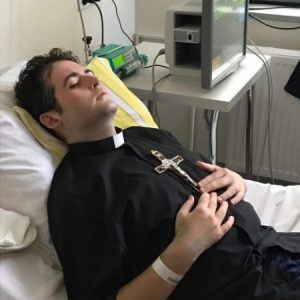 priest ordained in hospital