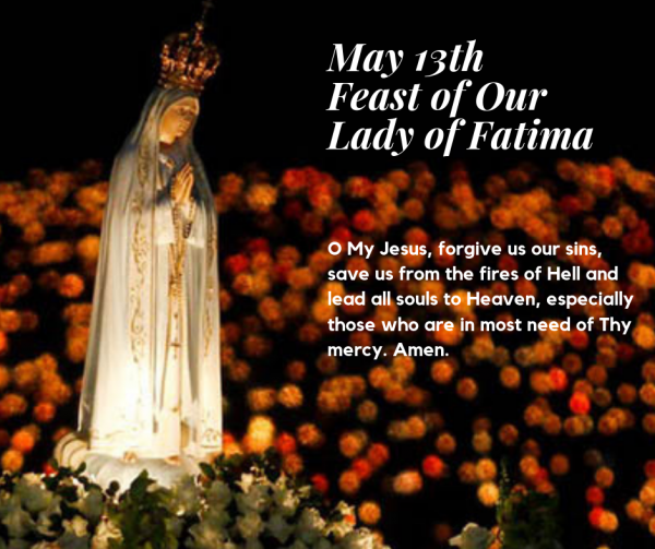 Our Lady of Fatima Prayer Rosary prayer