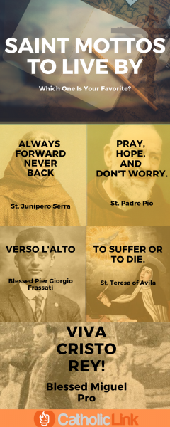Mottos of the Saints