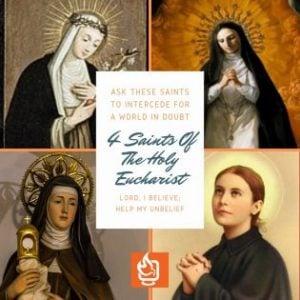 Saints of the Eucharist Women Saints
