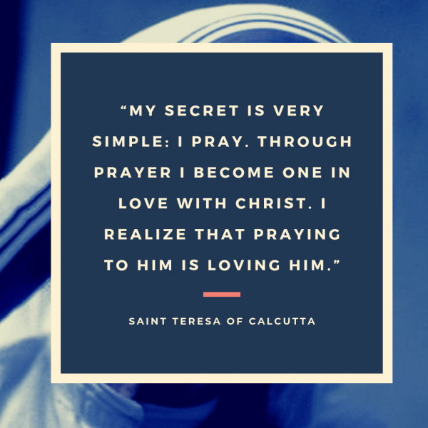 I Thirst Saint Quote Mother Teresa