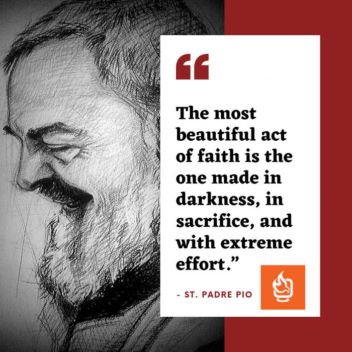 Padre Pio Quote