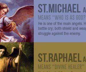 Archangel Names Meaning St. Michael, St. Gabriel, St. Raphael