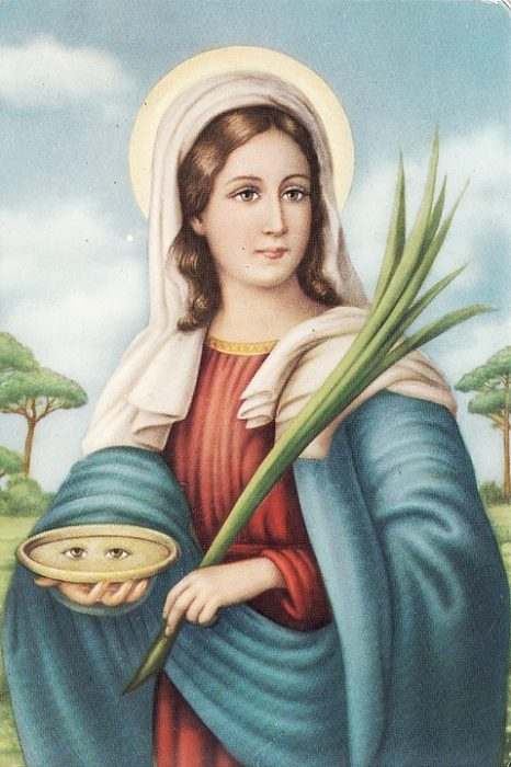 Catholic Halloween Saint  Costume Idea - St. Lucy