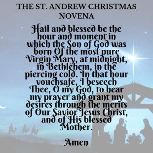 The St. Andrew Novena