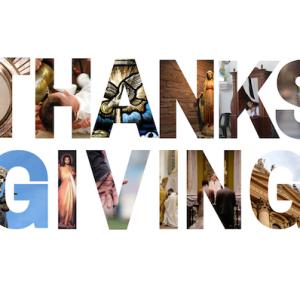 Catholic Thanksgiving Gratitude