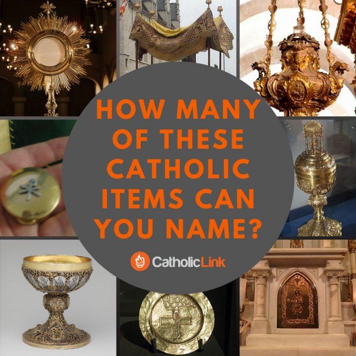 Catholic Mass Items Used
