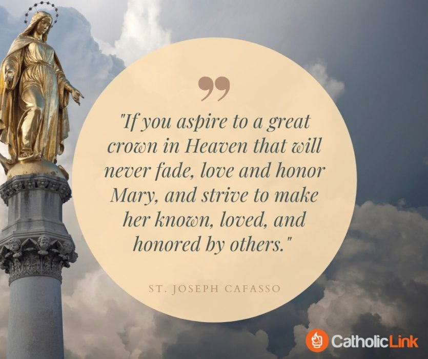 Aspire To A Great Crown In Heaven St. Joseph Cafasso Quote