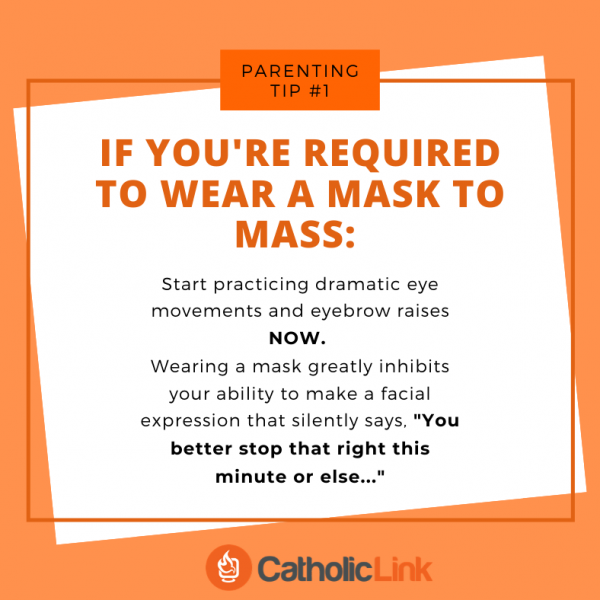 Mask At Mass Catholic
