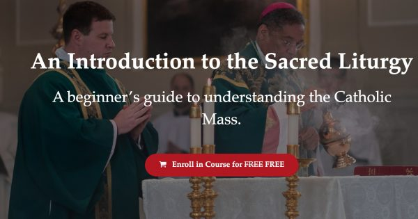 Free Catholic Classes Online Liturgical Institute