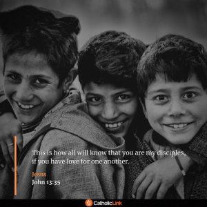 - John 13:35