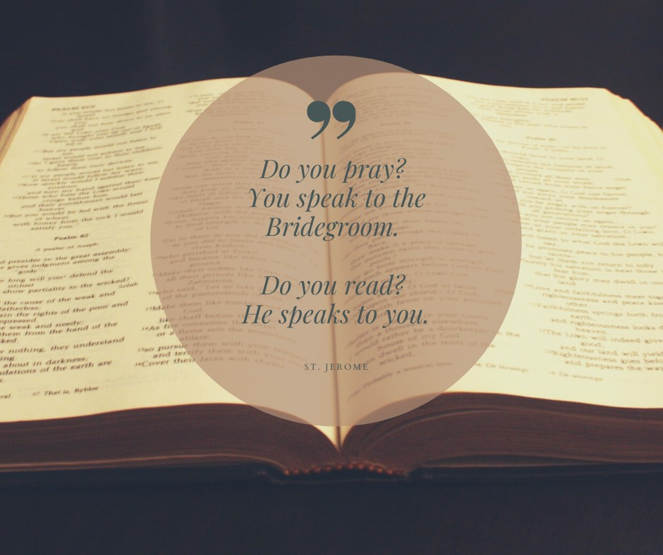 When You Pray With Scripture God Speaks To You