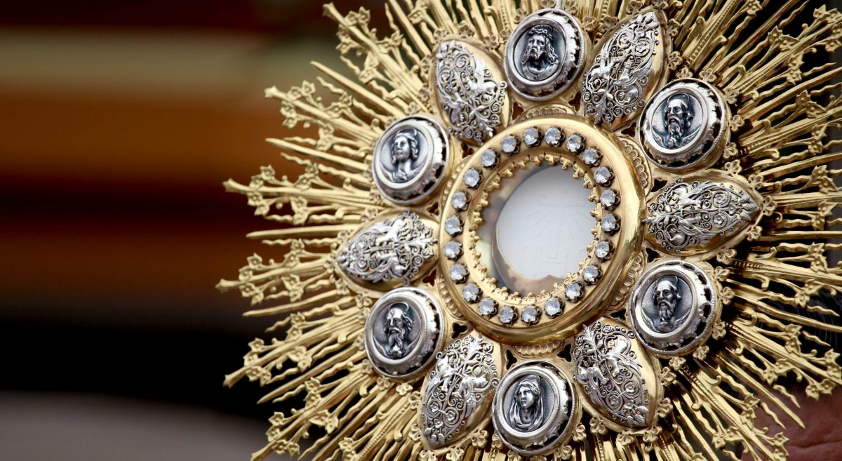 Jesus Is With Us In The Eucharist