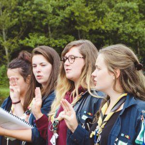Catholic Girl Scouts