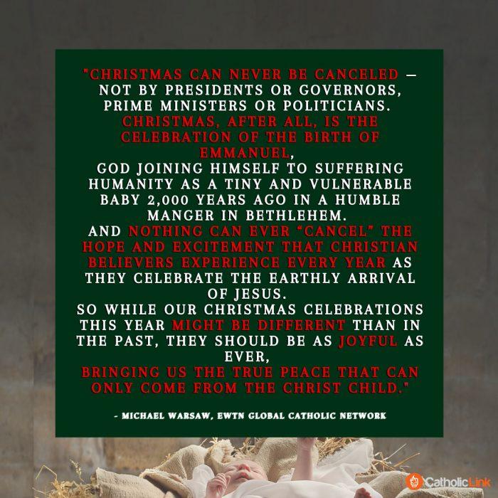 Christmas Can't Be Canceled Catholic