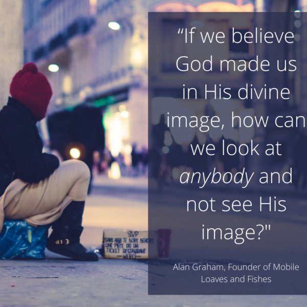 How to see God in the homeless Catholic Quote