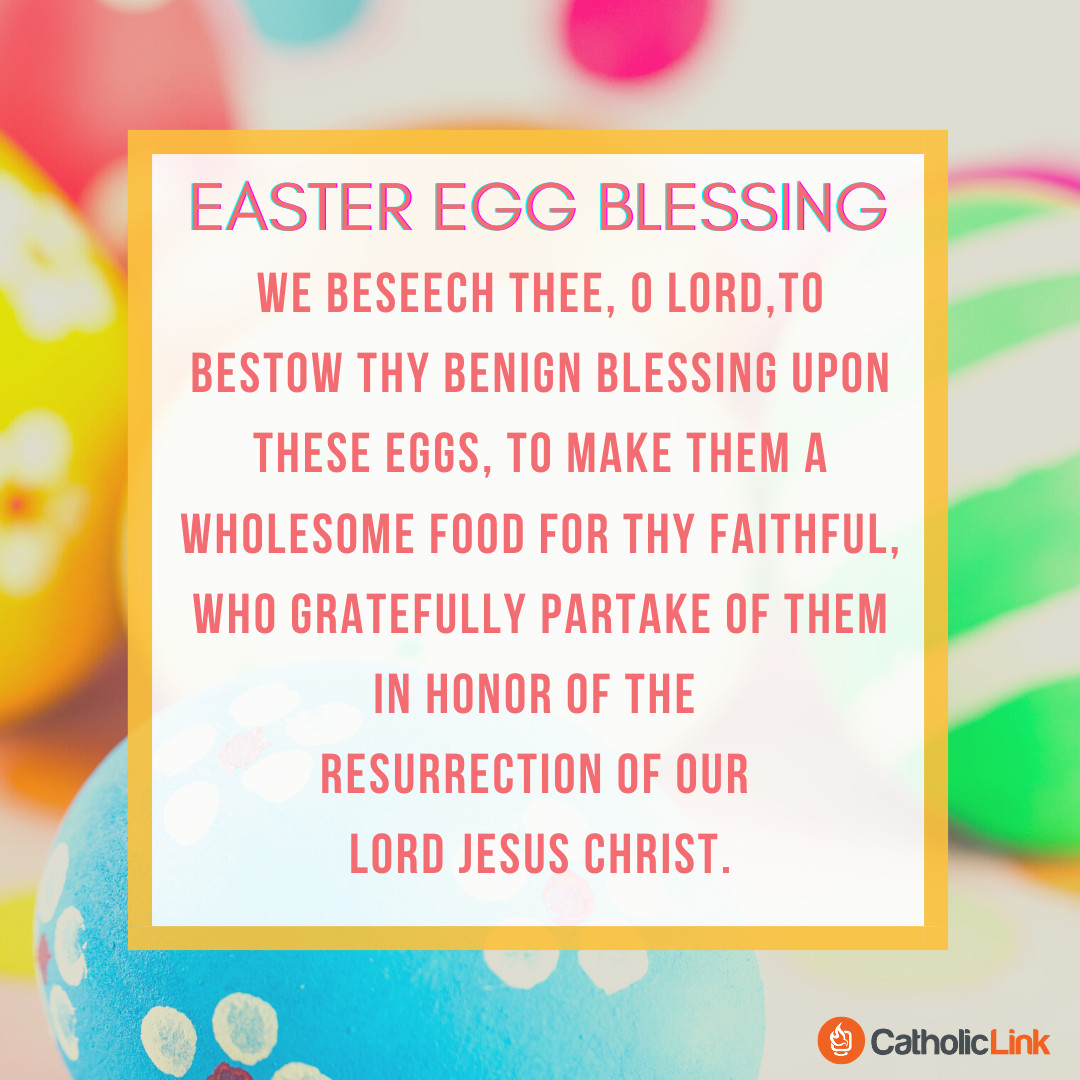 Catholic EASTER EGG BLESSING