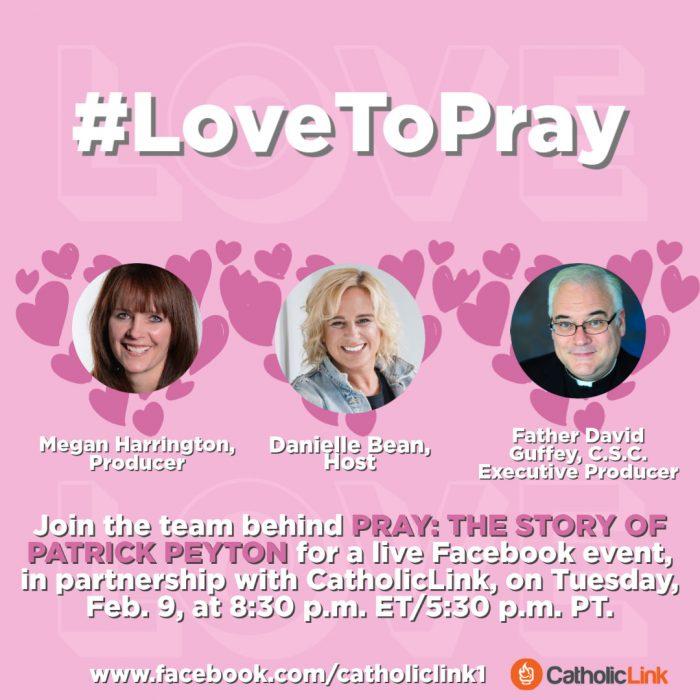 Pray Valentine Fr. Peyton PRAY