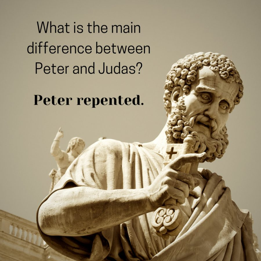 The Main Difference Between Peter and Judas