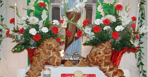St. Joseph Altar Feast Day