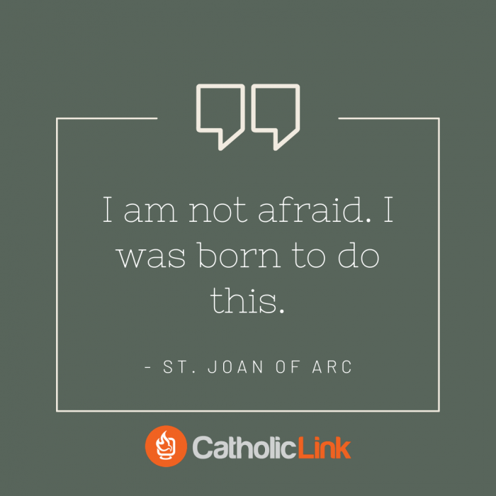 St. Joan of Arc Quote