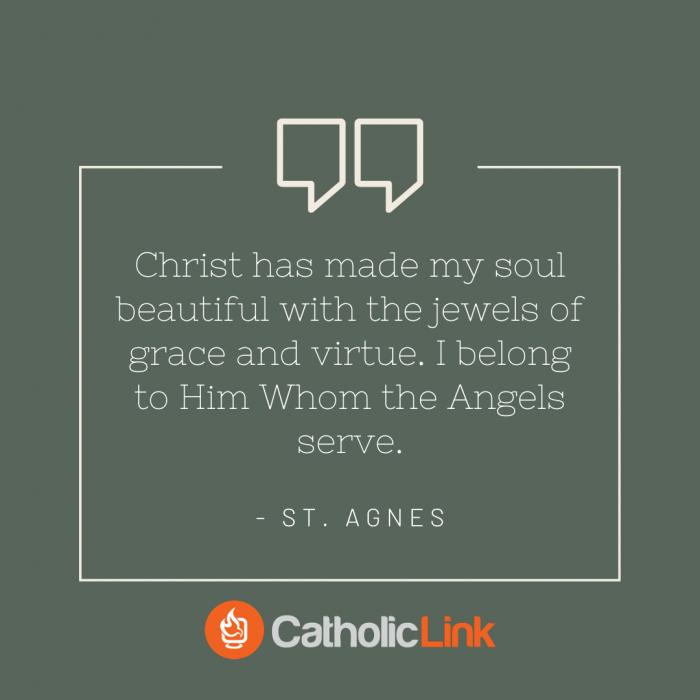St. Agnes Quote