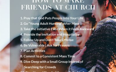 How To Make Friends At Church