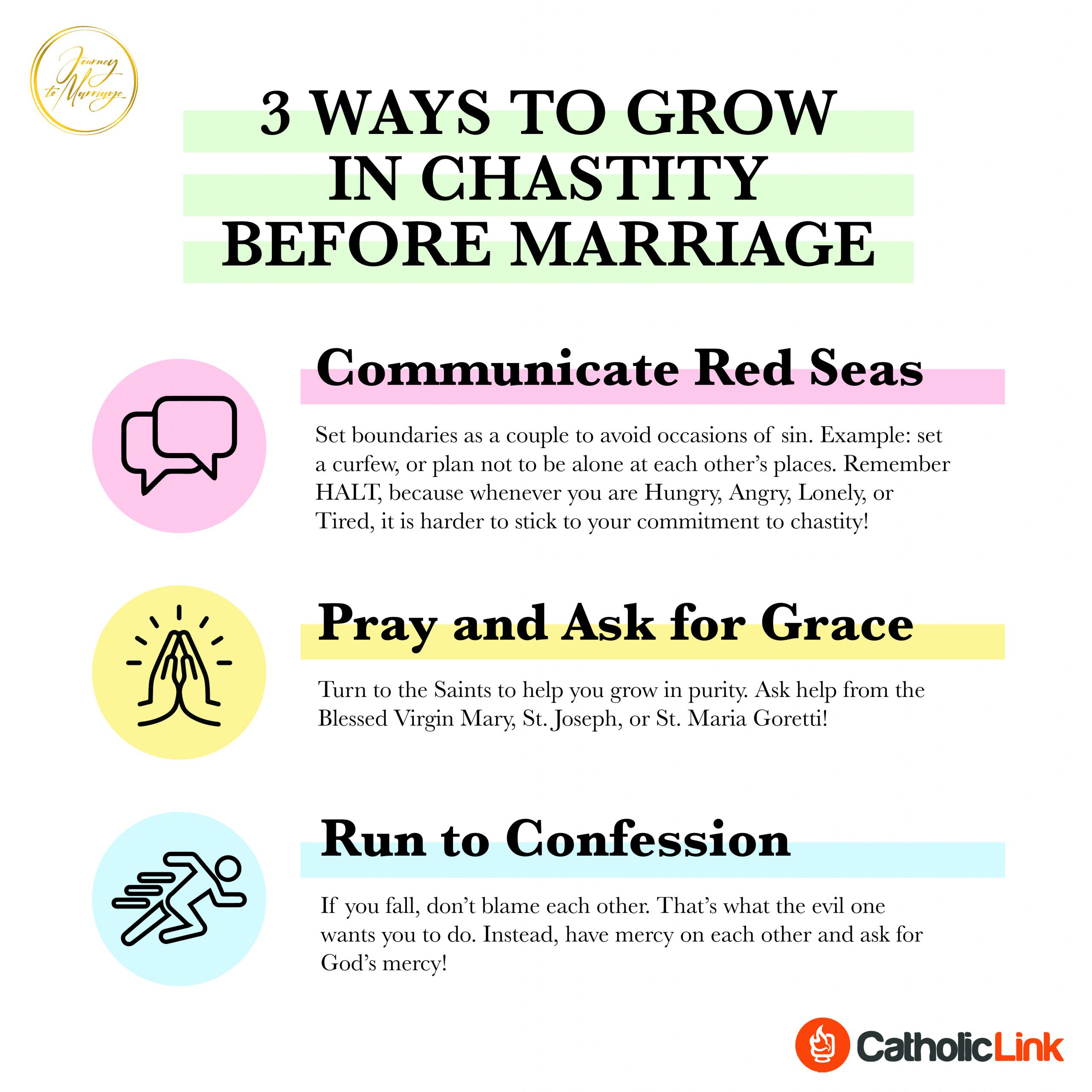 Here's How To Grow In Chastity Before Marriage