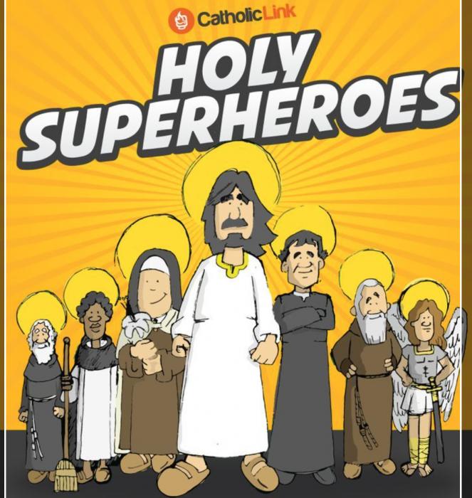 Holy Superheroes Saints for Kids