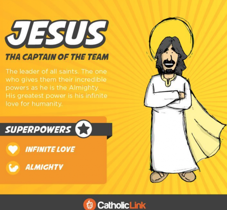 Jesus the ultimate superhero saints for kids