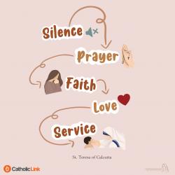 The Fruit Of Silence | St. Mother Teresa Of Calcutta