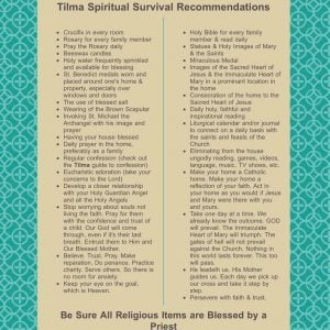 Catholic Spiritual Survival Tips