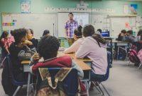 Catholic school teacher classroom